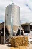 Bauernhof-Turm Stockfoto