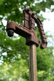 Bauernhof-Wasser-Hydrant Lizenzfreies Stockfoto