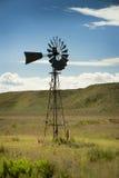 Bauernhof-Windmühle Stockbild