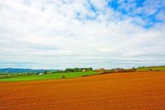 Bauernhoffeld in Schottland Lizenzfreie Stockfotografie