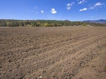 Bauernhoffeld in Vermont Lizenzfreies Stockbild