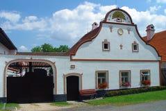 Bauernhofhaus Stockfotos