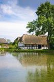 Bauernhofhaus Stockbild