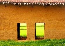 Bauernhofhaus lizenzfreie stockfotos
