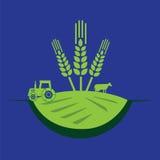 Bauernhofkonzeptdesign Stockfoto