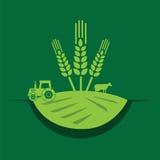 Bauernhofkonzeptdesign Lizenzfreies Stockfoto