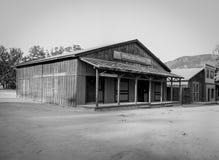 Baufällige Gebäude vom alten Westen Stockbild