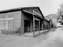 Baufällige Gebäude vom alten Westen Lizenzfreie Stockfotografie