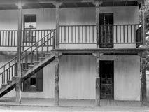 Baufälliges Gebäude vom alten Westen Stockfotos