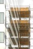 Baugerüst lizenzfreie stockbilder