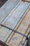 Baugerüstmaterial Stockbild