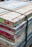 Baugerüstmaterial Stockfotografie