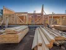 Baugestaltung des neuen Hauses Lizenzfreie Stockbilder