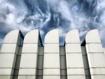 Bauhaus, Berlin. The Bauhaus archive building in Berlin, Germany - high dynamic range HDR stock photo