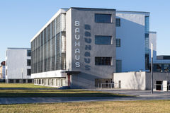 Bauhaus Dessau Immagine Stock Libera da Diritti