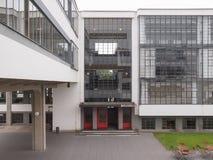 Bauhaus Dessau Royalty-vrije Stock Foto's