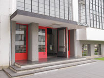 Bauhaus Dessau Royalty-vrije Stock Fotografie