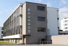 Bauhaus Dessau Fotografía de archivo libre de regalías