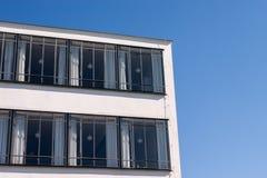 Bauhaus Dessau detail windows Royalty Free Stock Photo