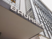 Bauhaus Dessau Stock Image