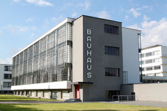 Bauhaus Dessau Stock Photo