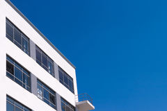 Bauhaus Dessau residental home blue sky Royalty Free Stock Photography