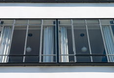 Bauhaus Dessau windows Royalty Free Stock Image
