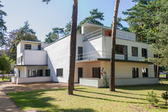 Bauhaus Masters Houses in Dessau, stock photo