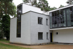Bauhaus Masters Houses in Dessau Royalty Free Stock Images