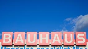 Bauhaus, miglioramento domestico, fare il giardinaggio e deposito dell'officina immagini stock libere da diritti