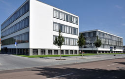 Bauhaus from north, dessau Stock Photo