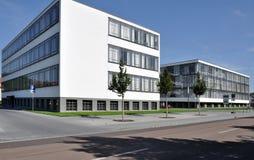 Bauhaus from north, dessau Stock Photo