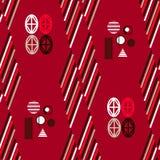 Bauhaus pattern6. Geometric simple seamless pattern.Constructivism art style.Russian constructivism. Vector colorful texture . Bauhaus abstract textile vector illustration