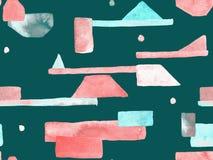 Bauhaus Seamless Pattern. royalty free stock image
