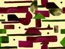 Bauhaus Seamless Pattern. royalty free stock photos