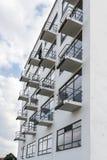 Bauhaus szkoły artystycznej ikonowy budynek w Dessau, Niemcy obrazy stock