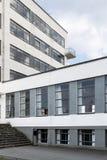 Bauhaus szkoły artystycznej ikonowy budynek w Dessau, Niemcy fotografia stock