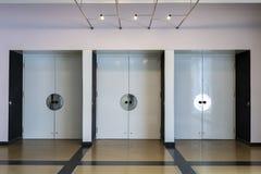 Bauhaus szkoły artystycznej ikonowy budynek w Dessau, Niemcy obrazy royalty free