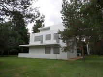 Bauhausgebäude 2014 Dessau Deutschland Stockbild