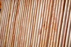 Bauholz benutzt für Bau Lizenzfreie Stockfotografie