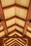 Bauholz-Decke Stockbilder