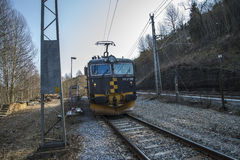 Bauholz-Transport Lizenzfreie Stockbilder