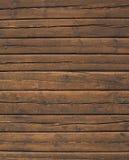 Bauholz-Wand Lizenzfreie Stockfotografie