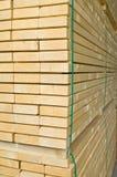Bauholzablage Stockbilder