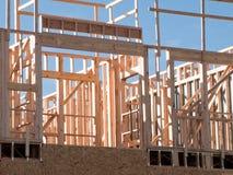 Bauholzarbeit Stockbilder