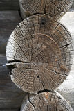 Bauholzarbeit 2 Stockfotos