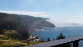 Bauholzbucht Kalifornien-Küste lizenzfreie stockbilder