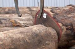 Bauholzindustrie Stockfotos