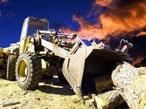 Bauholzindustrie Lizenzfreies Stockbild