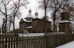Bauholzkirche Lizenzfreies Stockfoto